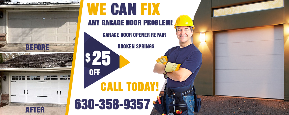 Garage Door Repair Naperville banner