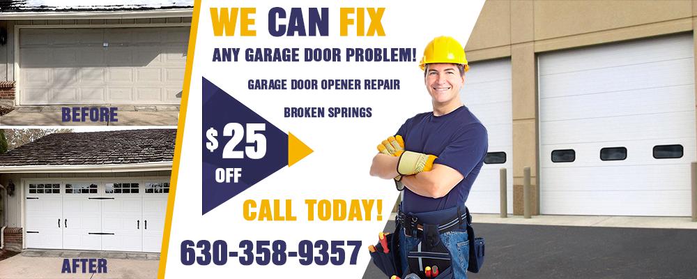 commercial garage door naperville il